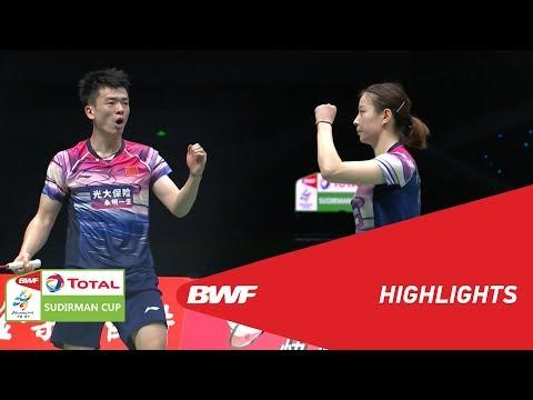 TOTAL BWF SUDIRMAN CUP 2019 | XD | CHINA VS THAILAND | BWF 2019