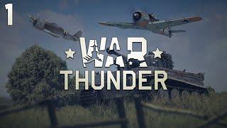 War Thunder #1 - Latające rolniki :D