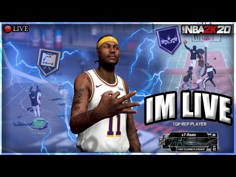 NBA 2K20 - ALL-STAR 2 GRIND! BEST BUILD! ROAD TO 1K! LATE NIGHT STREAM!