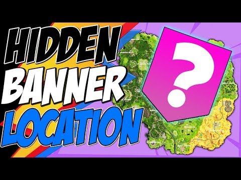 Fortnite SECRET BANNER WEEK 8 LOCATION Season 7 - Secret Battle Star Fortnite Battle Royale