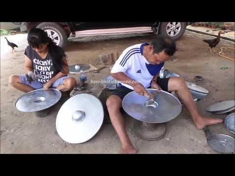 Kampung Sumangkap Gong Making Factory Village, Kudat Sabah Malaysia