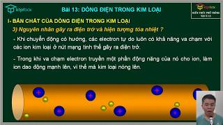 Bài 13: Dòng điện trong kim loại - Vật Lý 11