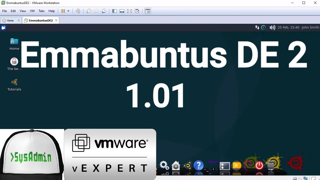 How to Install Emmabuntus DE 2 1 01 + VMware Tools + Review on VMware  Workstation [2018] by Linux Video Tutorials