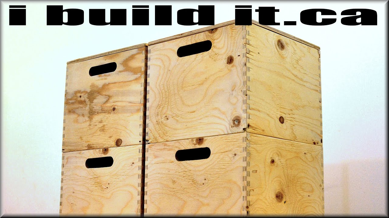 Make These Wooden Storage Boxes YouTube