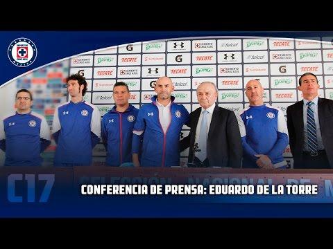 Presentación F. Jémez,  Nuevo Director Técnico de Cruz Azul