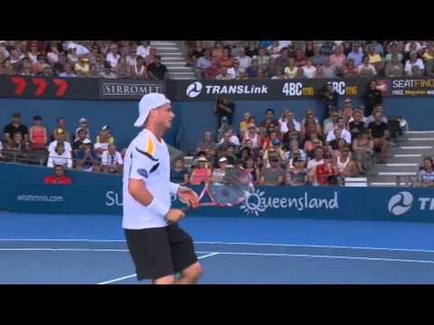 Lleyton Hewitt v Denis Istomin - Full Match Men's Singles Round 2: Brisbane International 2013
