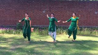Punjabi Folk Dance || Girls Performance || Trending Bhangra 2018 || Lehmber