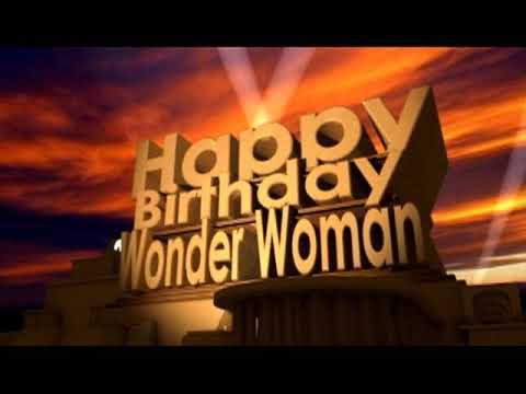 Happy Birthday Wonder Woman