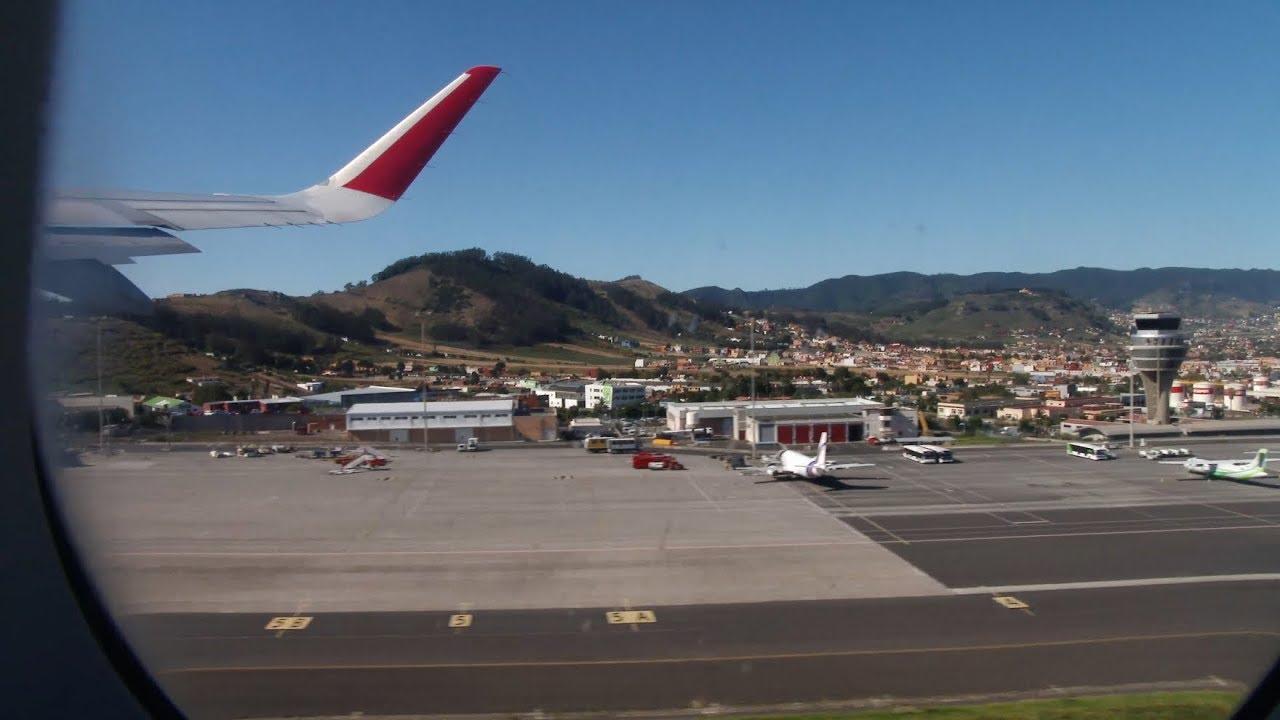 Aeropuerto De Tenerife Norte Madrid T4 4k Youtube