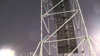 DELAY JBL VERTEC 4889 de SPECTRA en SHAKIRA POP FESTIVAL