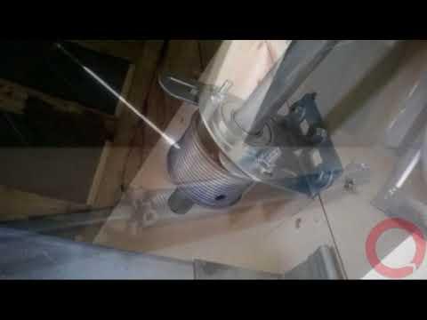 Kahe normaaltõsteviisiga garaazi ukse paigaldus