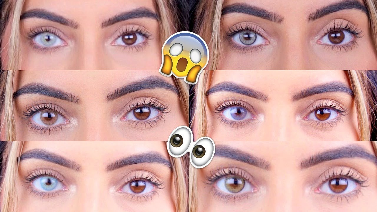 Best Coloured Contacts For Dark Eyes