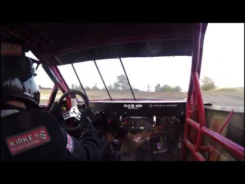 8-21-15 Jim Beasley Kankakee Speedway Sport Compact Heat Race #2