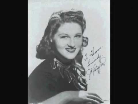 ON THE SUNNY SIDE OF THE STREET ~ Jo Stafford & The Pied Pipers  (1944)