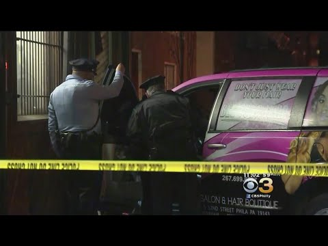 Police: Driver Shot And Killed, Crashes Vehicle Into West Philadelphia Building