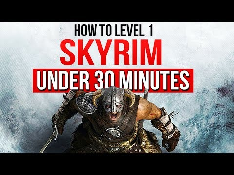 Beating Skyrim's Main Quest UNDER 30 Minutes at Level 1 – ESO Reacts! thumbnail