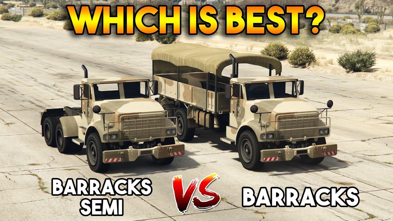 Download GTA 5 ONLINE : BARRACKS VS BARRACKS SEMI (WHICH IS BEST?)