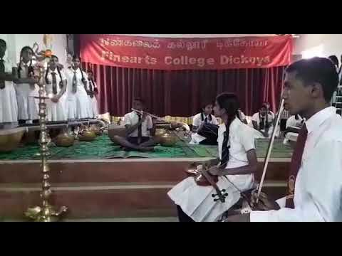 Dickoya Finearts college. Childrens performance