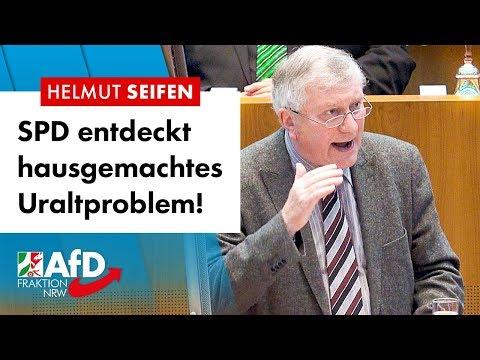 SPD entdeckt hausgemachtes Uraltproblem! – Helmut Seifen (AfD)