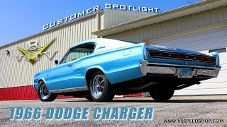 1966 Dodge Charger Customer Spotlight Video V8 Speed and Resto Shop V8TV