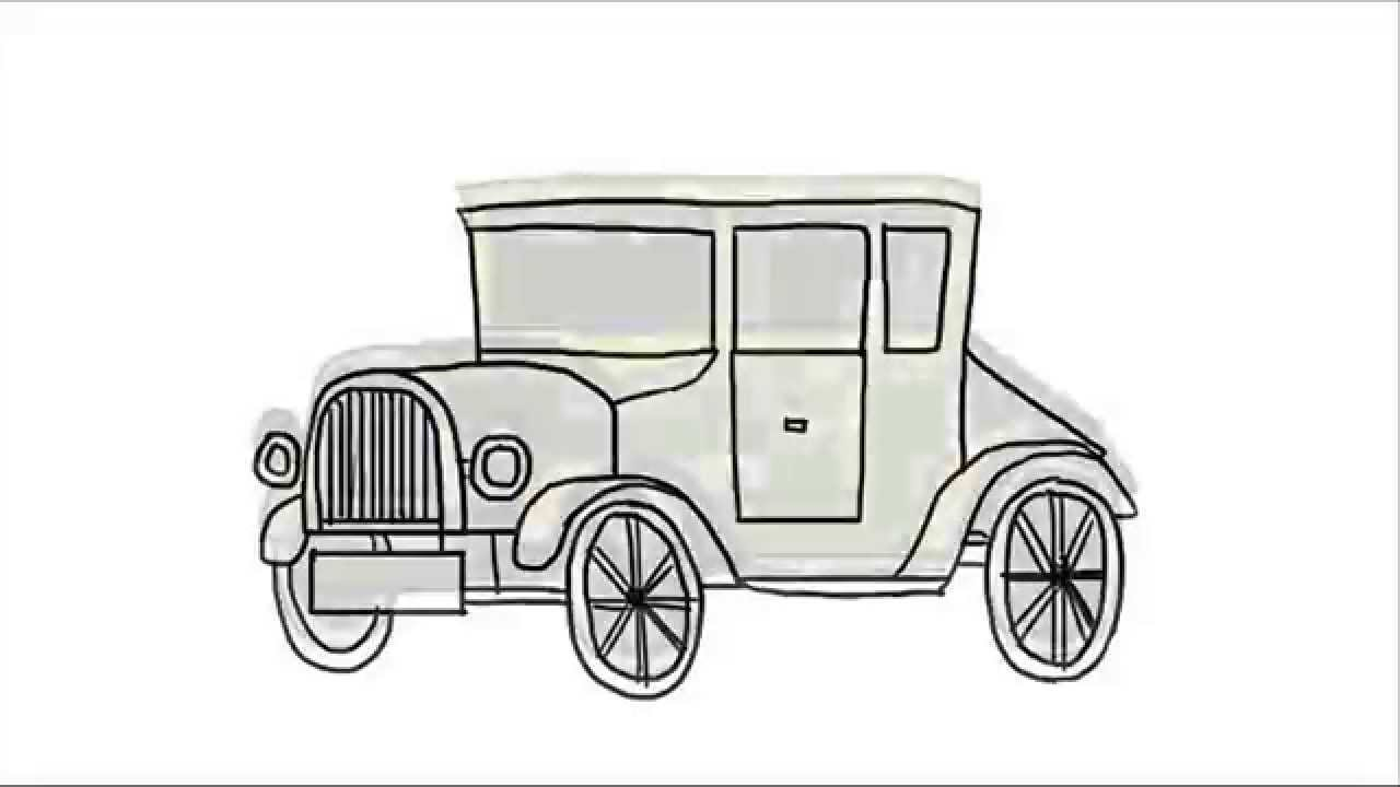 how to draw a car pdf