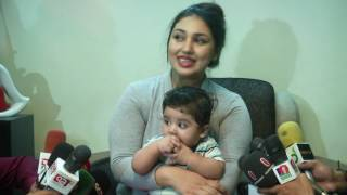 Apu Biswas  PRESS Conference With her Baby ( Uncut Full Video ) HD