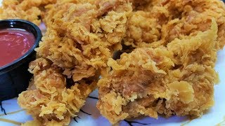 Easy Crispy Fried Chicken How to Make Fried Chicken with Simple Ingredients at Home CookWithShaheen