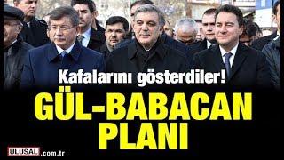 Davutoğlu, Gül ve Babacan harekete geçti! Yeni parti hareketliliği: Yurt dışına söz verdi