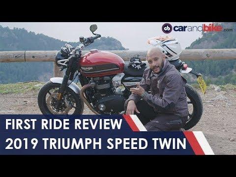 2019 Triumph Speed Twin First Ride Review   NDTV carandbike