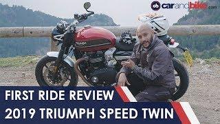 2019 Triumph Speed Twin First Ride Review | NDTV carandbike