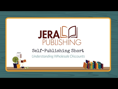 Self-Publishing Short: Understanding Wholesale Discounts