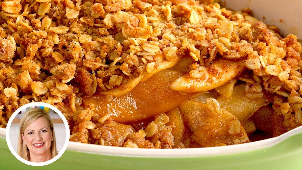 Download Professional Baker Teaches You How To Make APPLE CRISP!