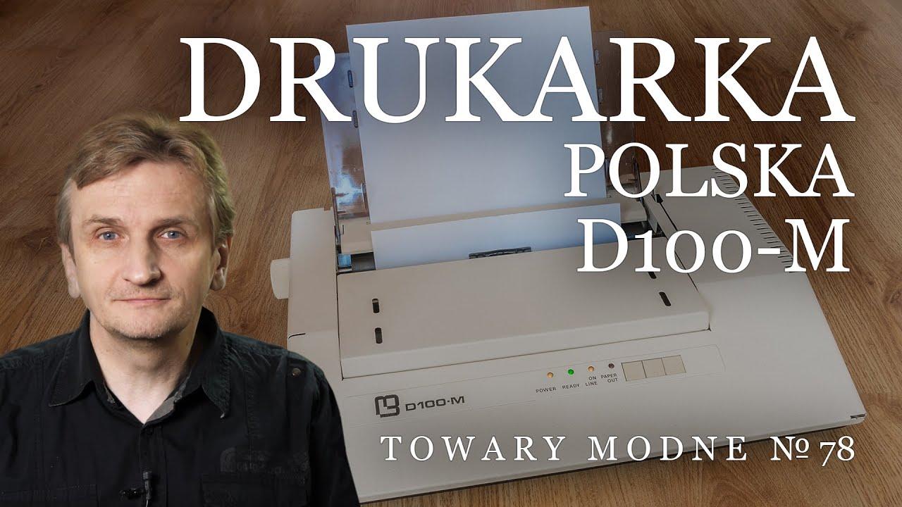 Download TOWARY MODNE 78 - Drukarka polska Mera D-100M