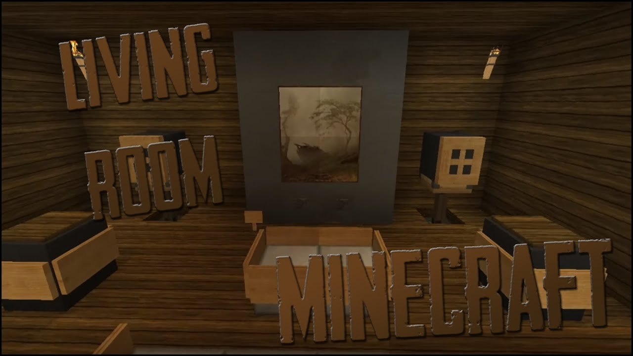 Living room ideas minecraft youtube for Living room ideas in minecraft