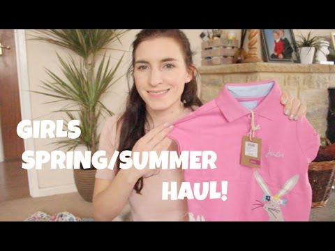 GIRLS SPRING/ SUMMER CLOTHING HAUL!