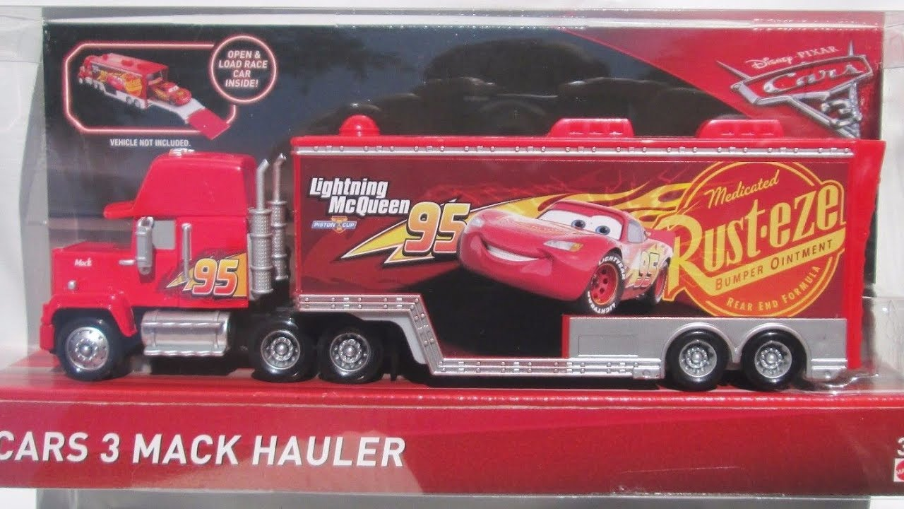 Cars 3 Mack Hauler Disney Pixar Cars 3 Diecast Review Toy Mattel