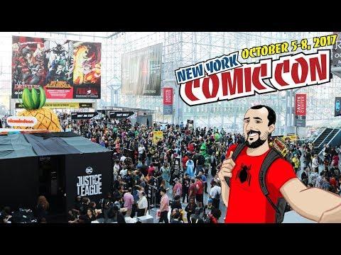 NYCC 2017: Giro completo pela convenção - brinquedos, quadrinhos, cosplay e muito mais!