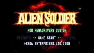 Alien Soldier (Superhard) - Real-Time walkthrough by Brick_Man