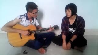 Chưa ai - guitar cover by Win cờ bờ ft. Chồn Con