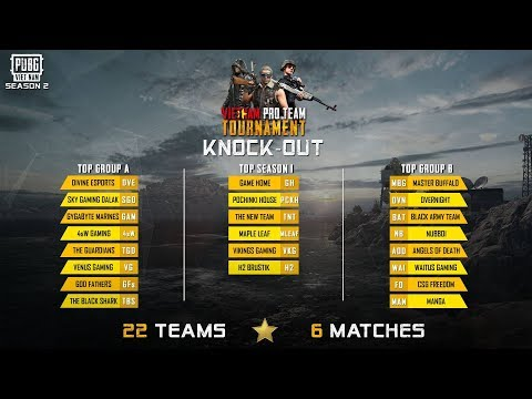🔴LIVE: Vietnam Pro Team - Season 2 | KNOCK OUT STAGE