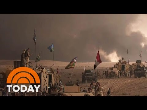 Iraqi Forces Closing In On ISIS-Held Mosul; 200,000 Could Be Displaced | TODAY