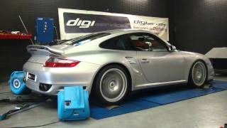 Porsche 997 turbo reprogrammation moteur dyno digiservices