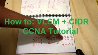 How to VLSM + CIDR Manually - CCNA Tutorial