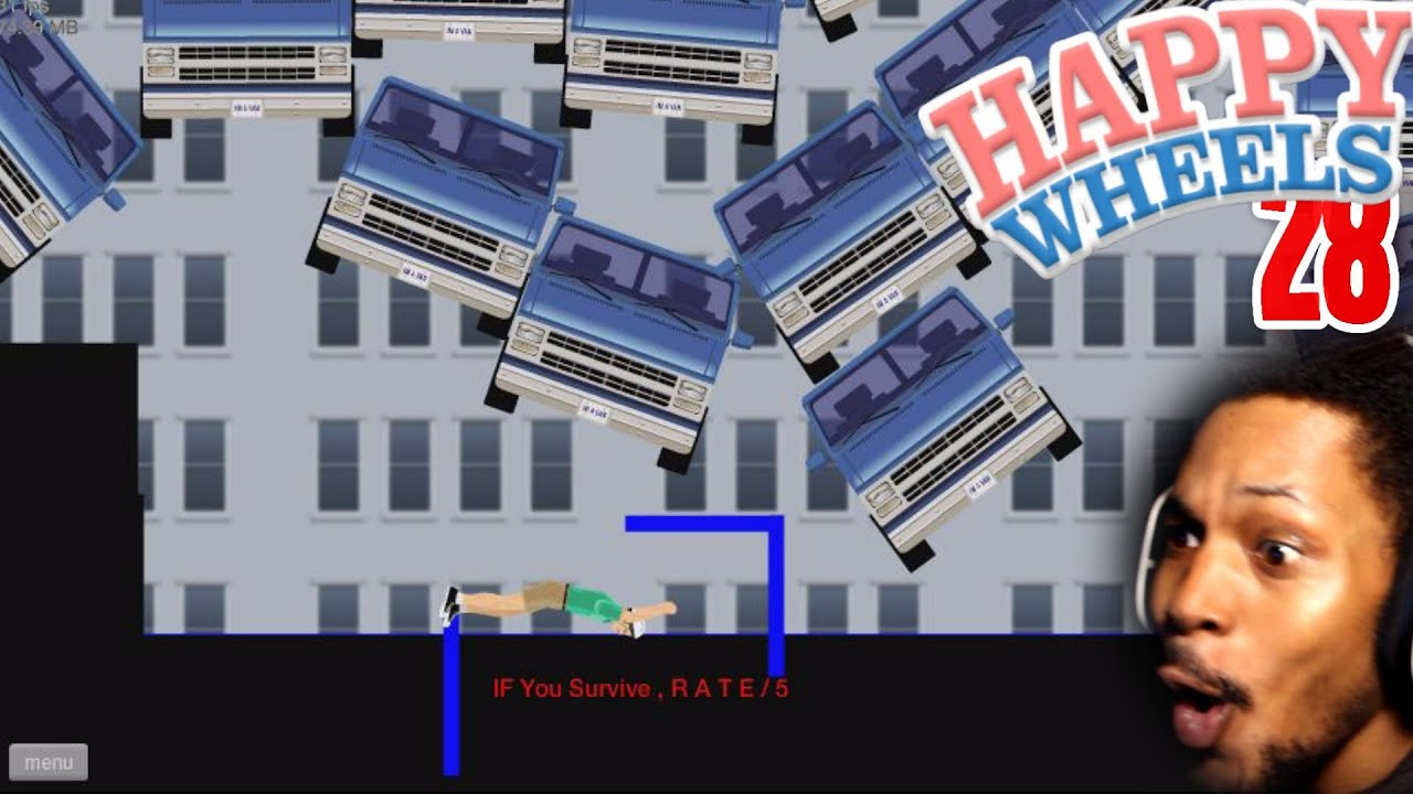 These levels are impossible happy wheels 28 - Let s play happy wheels ...