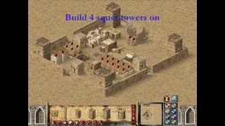 How to build best defence castle in Stronghold Crusader