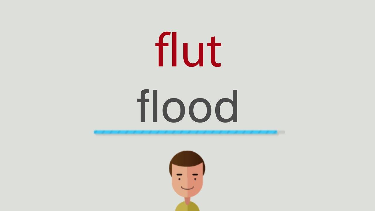 Flut Englisch