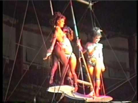Flying Espanas Trapeze Act. Carolina, Gladis Espana, Angela Ramos & Carlos Philis Part 2