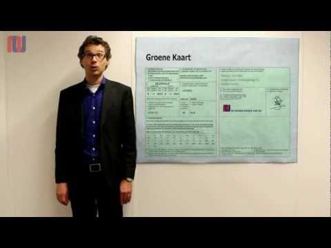 de groene kaart