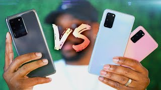 Galaxy S20 vs S20 ULTRA Hands On! - What