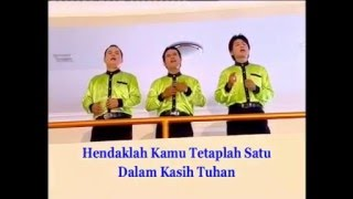 Download Mp3 Lagu Rohani Kristen : S'lamat Berbahagia...... Nafiri Trio